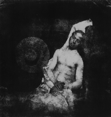 Autopotrait en noyé (1840) de Bayard