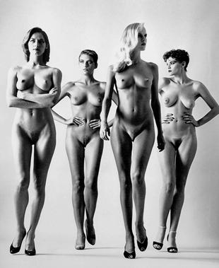 De la serie Big Nudes de Newton